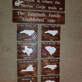 Home is where the Marine Corps or Branch sends us in Beaufort, South Carolina