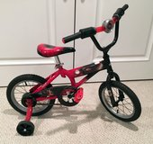 "Huffy 14"" boys bike with training wheels in Bolingbrook, Illinois"