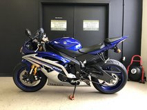 2016 YAMAHA YZF-R6 ( TEAM YAMAHA/MATTE SILVER) UNLEADED GAS in Fort Campbell, Kentucky