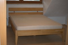 German bed frame with slatted frame (Lattenrost) in Ansbach, Germany