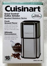 Cuisinart Coffee Grinder Brand New! in Plainfield, Illinois