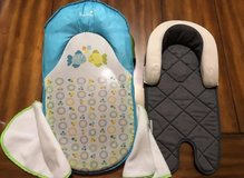 Summer Infant Bath Sling With Warming Wings 1 Set and Goldbug Air Flow Baby Head & Body Support. in Shorewood, Illinois
