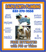 ?????  FREE ESTIMATES on PLUMBING REPAIRS  ????? in The Woodlands, Texas