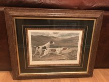 Dog framed print in Great Lakes, Illinois