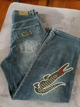 Men's Lacoste Jeans, Size 36 (Baggy Fit) in Fort Campbell, Kentucky