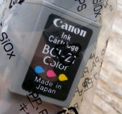 x4 NEW Ink Cartridges - Cannon BCI-21 Color in Alamogordo, New Mexico
