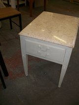 End Table w/ Marble top in Cherry Point, North Carolina