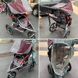 Bob Revolution Stroller- Plum in Aurora, Illinois