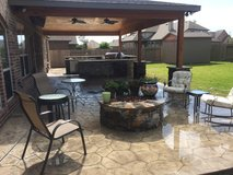 outdoor Renovation in Conroe, Texas