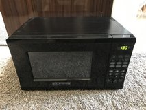 Black & Decker EM720CPI-PMB 700-watt Microwave, 0.7 Cubic Feet, Black in Okinawa, Japan