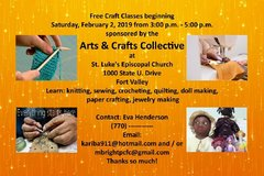 Volunteer Artists and Crafters in Warner Robins, Georgia