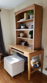 Ethan Allen Desk with Hutch and storage seat in Aurora, Illinois