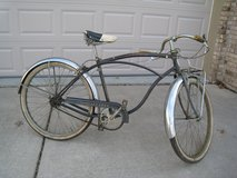 Vintage 1956 Schwinn Corvette Bicycle 1 Owner Original in Lockport, Illinois