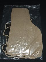 Volkswagen Touareg Carpeted Floor Mats 4-Set New Tan / Beige #156829/00 in Batavia, Illinois