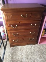 6 Piece Bedroom Set Desk, Hutch, Dresser, Mirror, Headboard, Tall Dresser in Aurora, Illinois