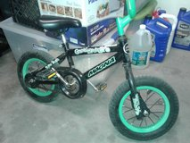 "12"" bicycle + training wheels. in Alamogordo, New Mexico"