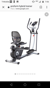 Pro-form hybrid trainer in Shorewood, Illinois