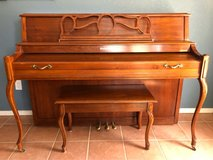 Baldwin Upright Piano with bench Serial number 1497897 Model number 2066A in Alamogordo, New Mexico