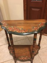 Hand printed Cute Solid Wood Accent Table in Chicago, Illinois