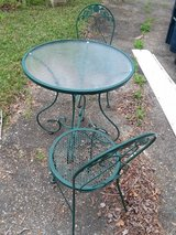 Green Patio Table & 2 Chairs! in Camp Lejeune, North Carolina