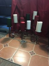 Candles holder tile in Alamogordo, New Mexico