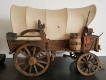 Miniature covered wagon in Ramstein, Germany