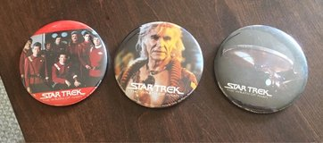 3 Wrath of Khan Pins in St. Charles, Illinois
