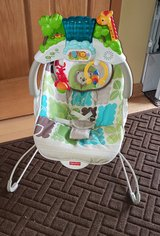 Fisher Price Rainforest Deluxe Bouncer in Lockport, Illinois