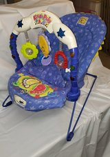Fisher Price Kick & Play Infant Bouncer in Joliet, Illinois