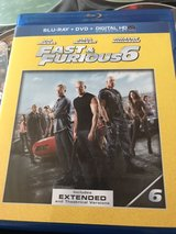 fast and furious 6 Blu-ray and digital in Ramstein, Germany