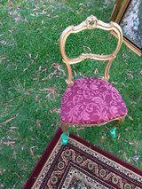 Pair Of Gold Side Chairs in Hampton, Virginia