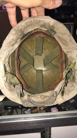 USMC Kevlar helmet small S – 1 in 29 Palms, California