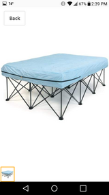 Foldable air mattress and frame in Beaufort, South Carolina