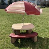 Step 2 Naturally Playful Picnic Table with Umbrella in Yorkville, Illinois