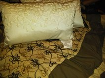 White Accent Pillows (2) in Warner Robins, Georgia