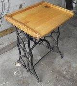 Enteryway Table Made from Sewing Machine Base in Fort Campbell, Kentucky