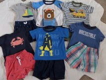 9 Month Boys Short Sets Lot 3 in Baytown, Texas