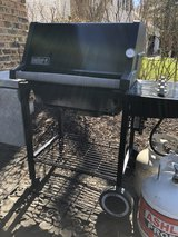 : ) Weber Gas Propane Grill.  w /Tank. in Plainfield, Illinois