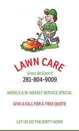 Lawn Care Serivce in Cleveland, Texas