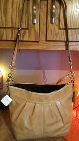 Coach Camel Patent Leather Handbag in Lockport, Illinois