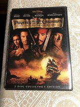 Pirates of The Caribbean - The Curse of the Black Pearl DVD - 2 Disc Collector's Edition in Plainfield, Illinois