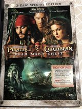 Pirates of teh Caribbean - Dead Man's Chest - 2 Disc Special Edition - DVD in Bolingbrook, Illinois