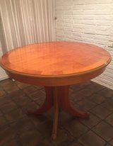 solid cherry wood dining table in Ramstein, Germany