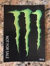 monster stickers 2 pcs in Nellis AFB, Nevada