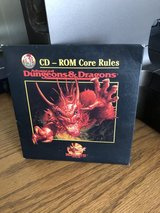 Advanced Dungeons & Dragons - CD-ROM Core Rules in Oswego, Illinois