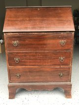 1930s Vintage (possibly older) Wooden 3-Drawer Writing Desk in Quantico, Virginia