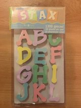 AlphaStax Dot Letters in pastel colors in Bolingbrook, Illinois