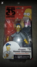 New Coach Homer Simpson figure in Chicago, Illinois