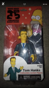 New Tom Hanks Simpson Collectable figure in Bolingbrook, Illinois