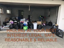 INSTANT JUNK REMOVAL, TRASH HAULING, GARAGE AND DEBRIS DISPOSAL in Ramstein, Germany